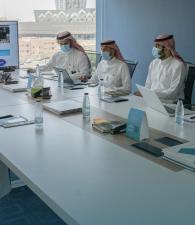 مركز التواصل الحكومي بوزارة الإعلام يستقبل ممثلي الهيئة السعودية  للبيانات والذكاء الاصطناعي